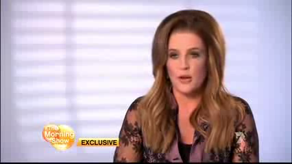 Lisa Marie Presley on The Morning mostrar (15/08/12)