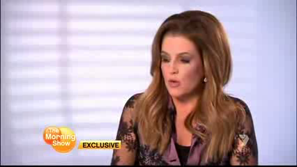 Lisa Marie Presley on The Morning tampil (15/08/12)
