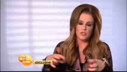 Lisa Marie Presley on The Morning mostra (15/08/12)