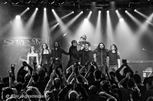 Lisa & Serenity @ Munich, Germany (Supporting Delain)