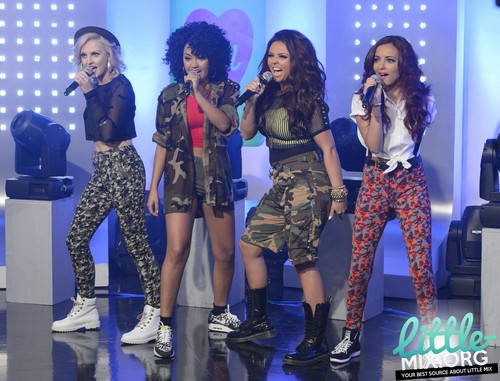 "Little Mix performing on ""This Morning"" - August 20th 2012. {HQ}"