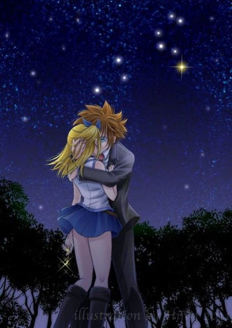 Loke x Lucy Loke x LucyFairy Tail Lucy And Loke Kiss