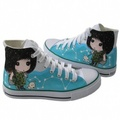 Lovely Fashion Drawing Shoes  - converse photo