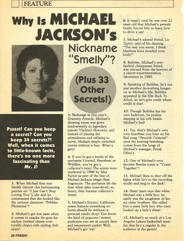 MJ - SECRETS