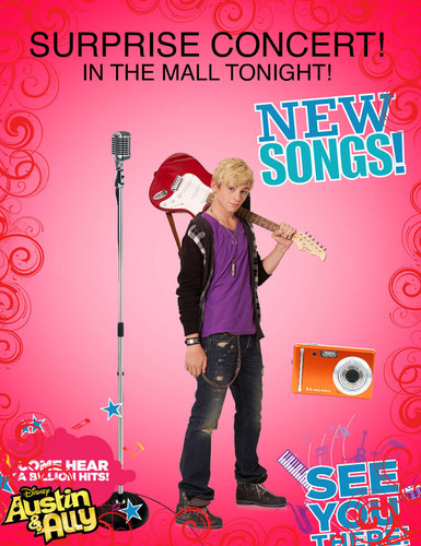 Go see Austin at the mall tonight