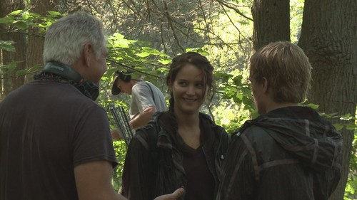 Making Of: On Location In Panem - josh-hutcherson Photo