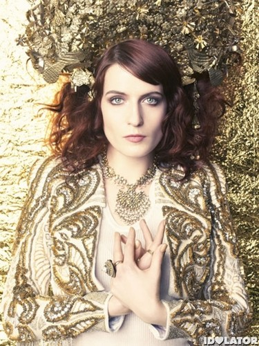 Florence + The Machine karatasi la kupamba ukuta called Marie Claire Photoshoot