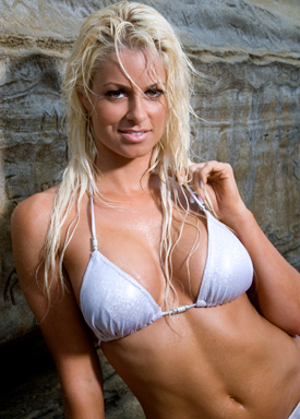 Maryse Ouellet wallpaper containing a bikini called Maryse Photoshoot Flashback