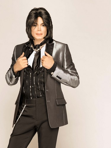 Michael Jackson fond d'écran with a well dressed person titled Matthew Rolston Photoshoot 2007