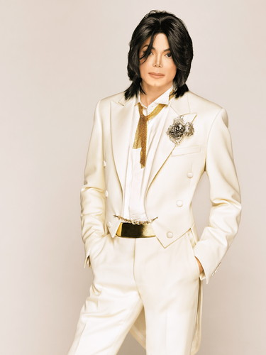 Michael Jackson Hintergrund possibly with a trench mantel titled Matthew Rolston Photoshoot 2007