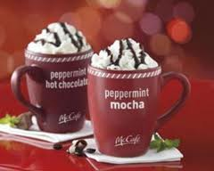 McDonalds Peppermint Hot chocolat