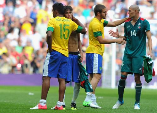Men's Football Final - Brazil v Mexico (1-2)