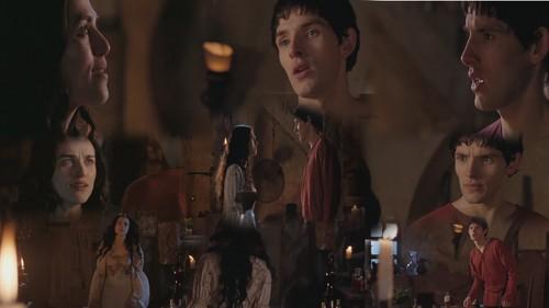 Merlin & Morgana wallpaper