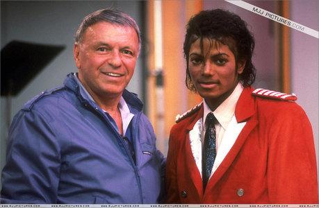 Michael And Frank Sinatra