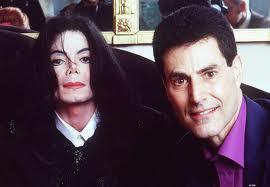 Michael And Good Friend, Uri Gellar