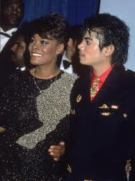Michael And Longtime Friend, Dionne Warwick