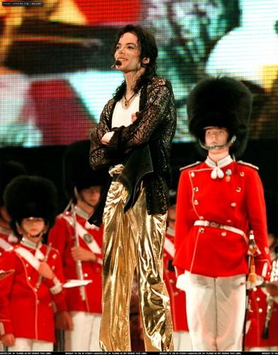 "Michael Celebrating His ""39th"" Birthday While On Tour In Copenhagen, Denmark Back In 1997"
