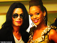 Michael Jackson and rihanna
