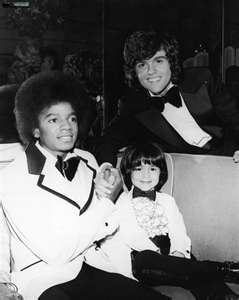 Michael With Good Friend And Fellow Entertainer, Donny Osmond And Younger Brother, Jimmy