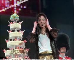"Michael;s ""39th"" Birthday Party In Copenhagen, Denmark Back In 1997"