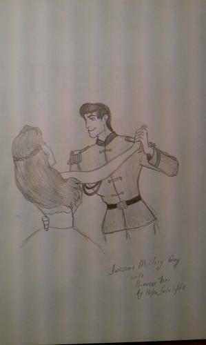 Military guy wth Tori
