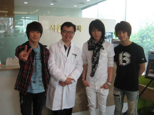 MinHwan, Jonghun and Jaejin