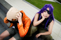 Minene and Yukiteru cosplay