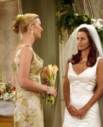Monica and Phoebe