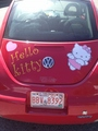 My Hello Kitty Car-Calgary, Alberta