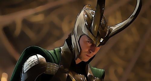 My Loki Painting