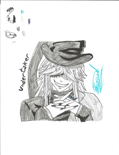 My best drawing of Undertaker (please like this it took HOURS)