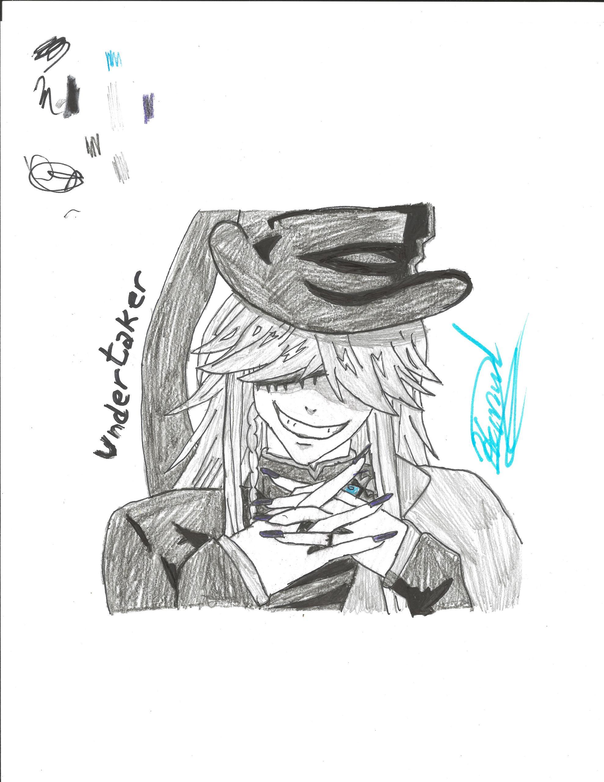 The Kuroshitsuji Black Butler Shinigami Fond Decran Called My Best Drawing Of