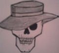 My drawing of skullduggery
