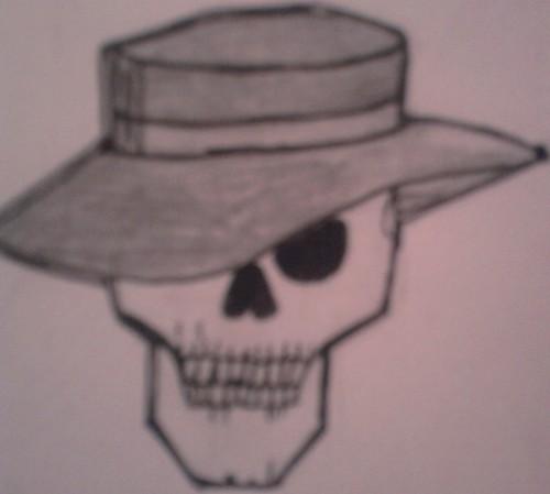 My drawing of skullduggery