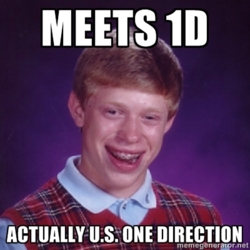 My luck as a directioner