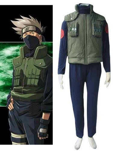 Naruto Kakashi Sensei Cosplay Costume