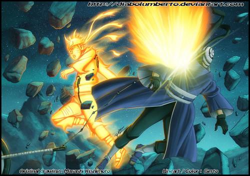 Naruto vs Tobi