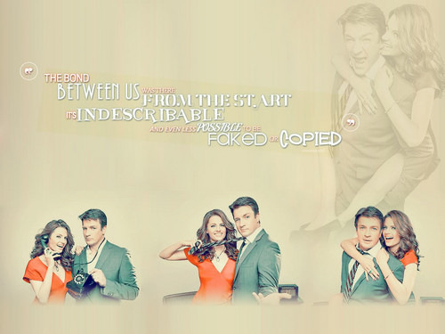 Nathan Fillion & Stana Katic wallpaper titled Nathan Fillion & Stana Katic
