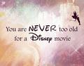 Never too old - classic-disney fan art
