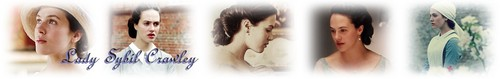 Lady Sybil Crawley photo possibly containing a fountain titled New Spot Banner