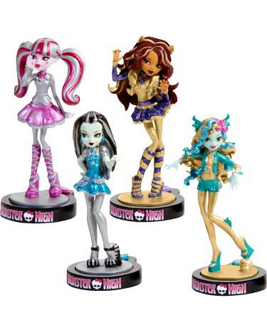 Monster High achtergrond called New items