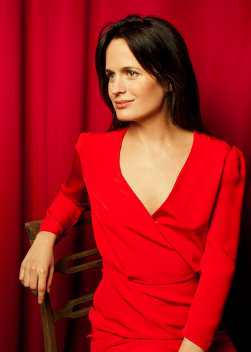 Elizabeth Reaser wallpaper probably containing a dinner dress and a cocktail dress titled New portrait of Elizabeth by Roman Cho {August 2012}.