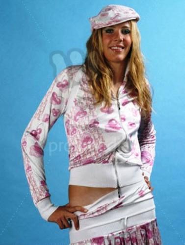 Nicole Vaidisova wearing Dior