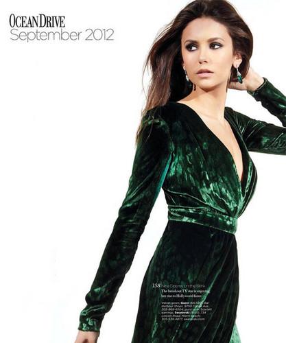 Nina Dobrev Covers Ocean Drive Magazine