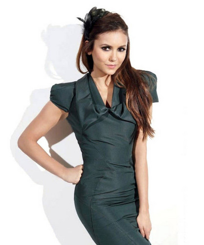 Nina Dobrev Covers Ocean Drive Magazine - the-vampire-diaries Photo