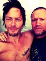 Norman and Michael - norman-reedus photo
