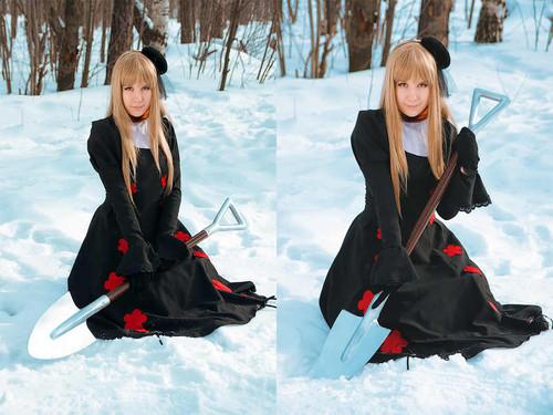 Nyotalia Cosplay: Dark Russia