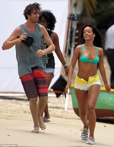 On The Set Of Face Of Barbados Campaign [12 August 2012]