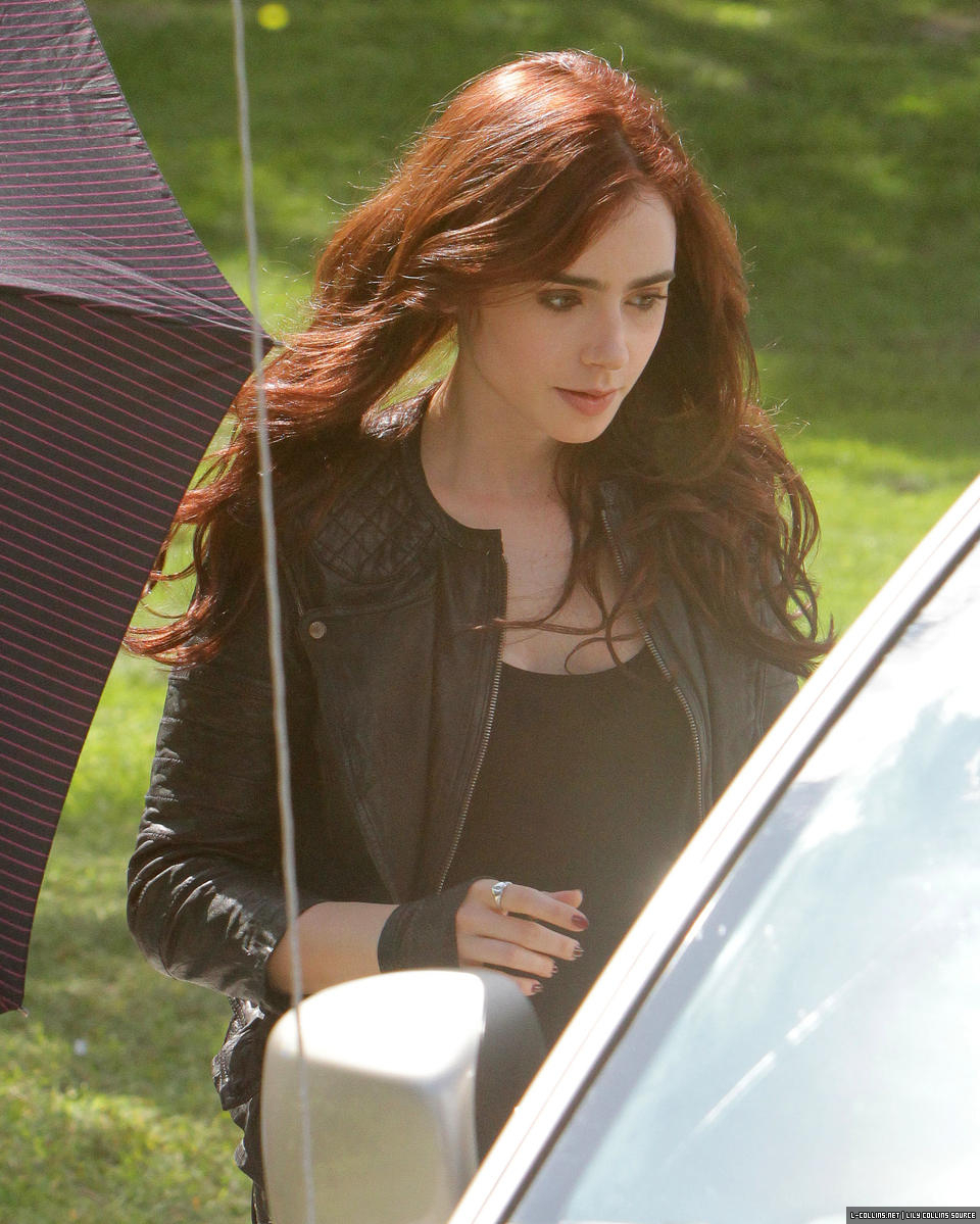 My hair is red enough! says Mortal Instruments Lily Collins