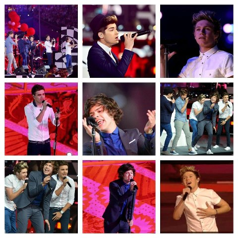 One Direction at the Olympics Closing Ceremony